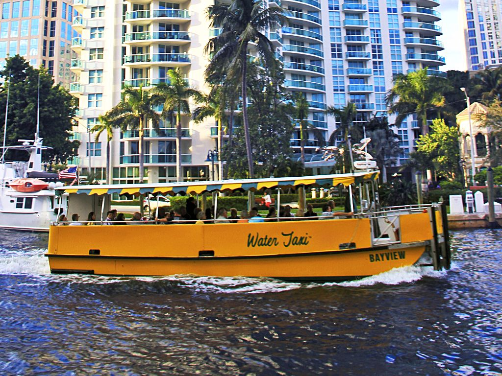 Image result for water taxi hollywood fl