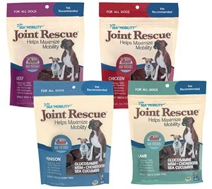 Sea Mobility Joint Rescue Arknaturals Dog Health Dog Joints Dog Supplements