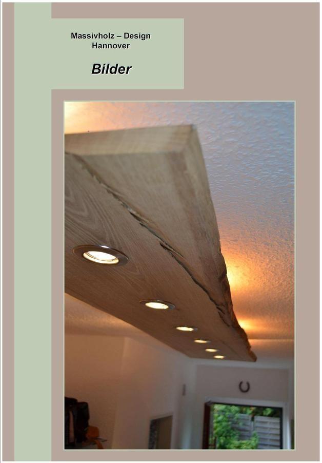 Deckenlampen Massiv Holz Design Decken Lampe Ein Designerst 252 Ck Von Massivholzdesignhannover