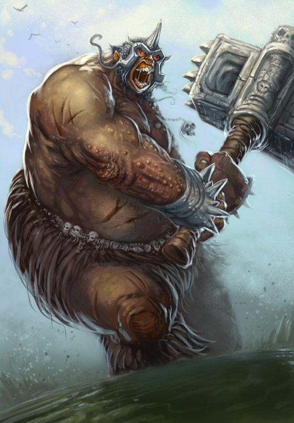 ogre by scottpurdy on deviantart fantasy illustration pinterest