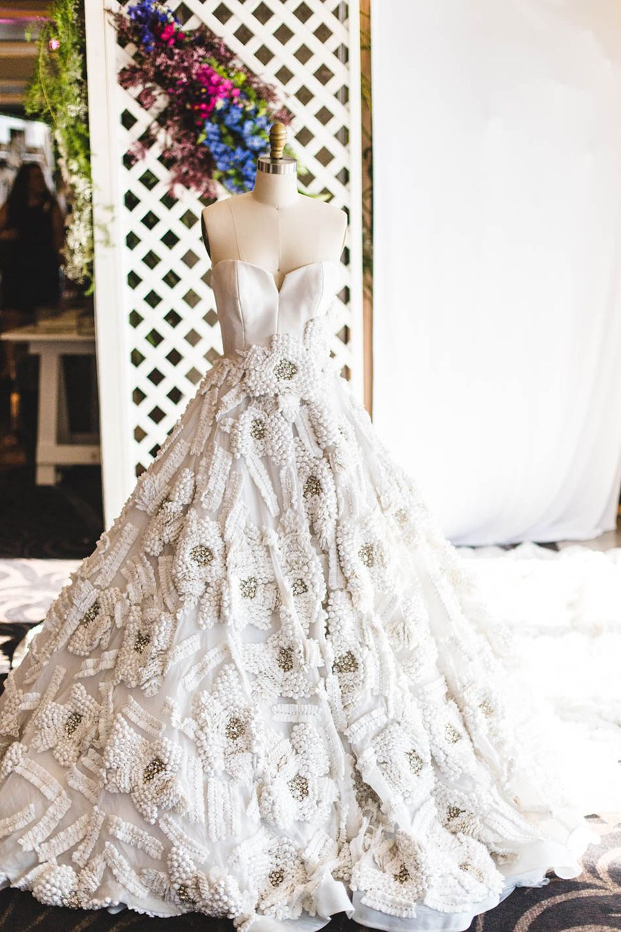 Traditional filipino wedding dress  Stepping Into a Wedding Wonderland The Bridal Bazaar  Part