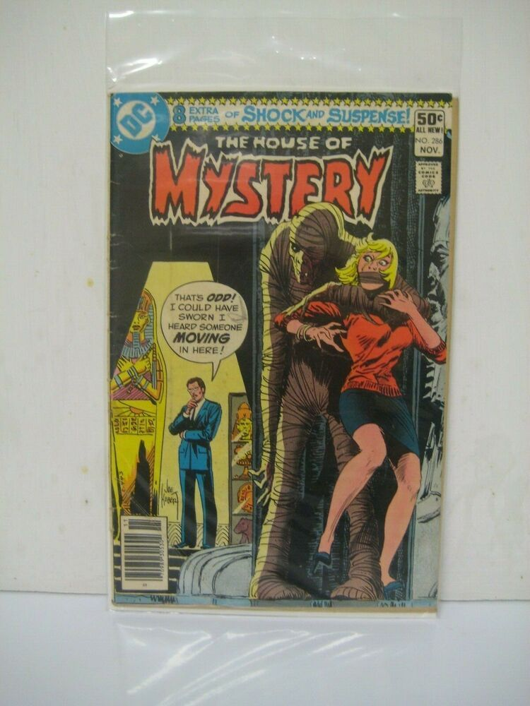 THE HOUSE OF MYSTERY dc comic book vol 30, 286 vg cond