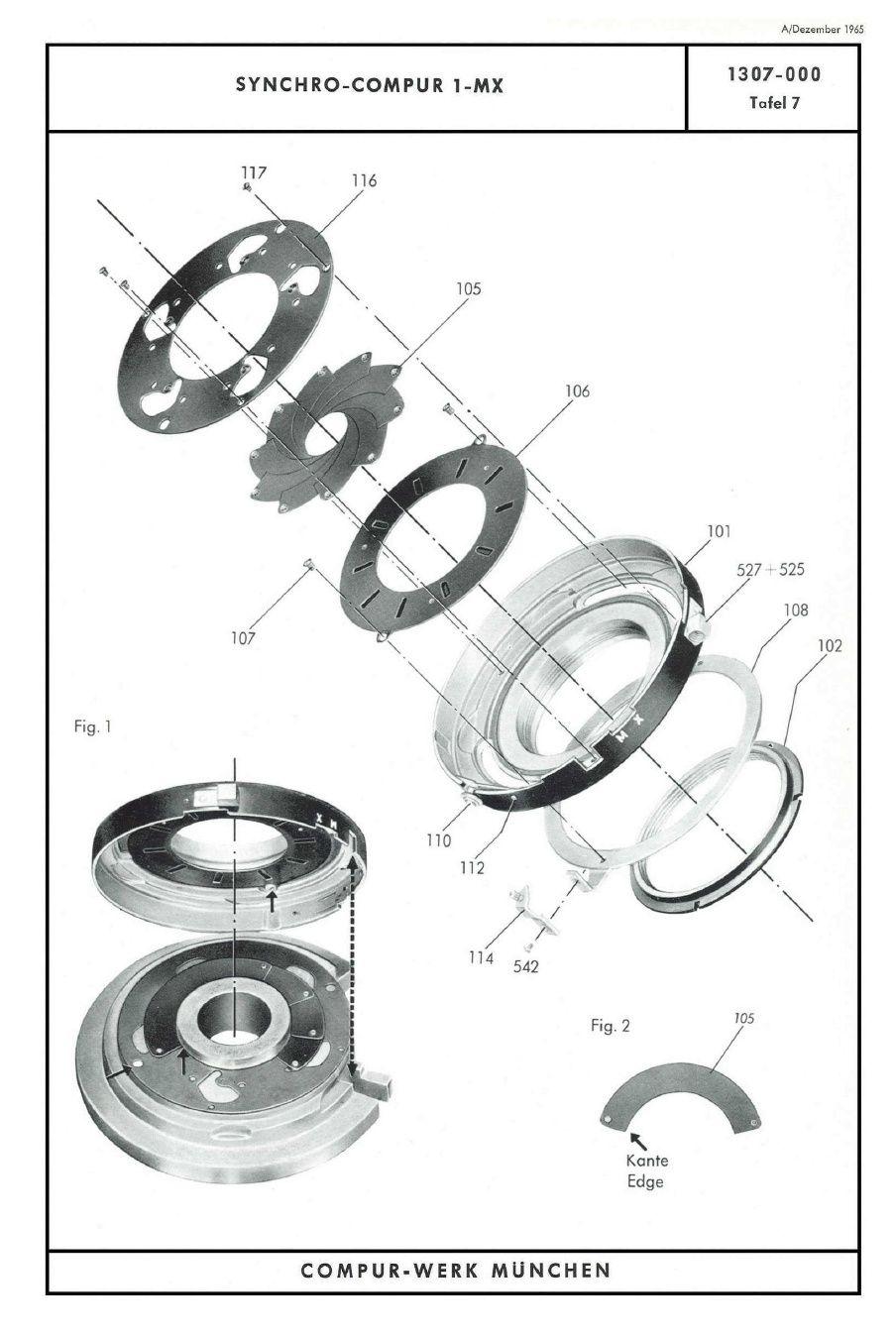 Compur Shutter Repair Manual Repair manuals, Shutters, Iris