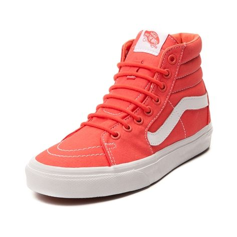 a88b3df39e53 Shop for Vans Sk8 Hi Skate Shoe in Coral at Journeys Shoes. Shop today for  the hottest brands in mens shoes and womens shoes at Journeys.com.