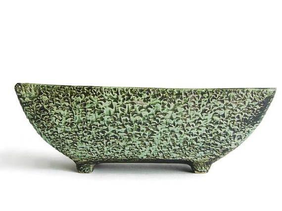 vintage ceramic planter from the 50s adli reuver dutch pottery