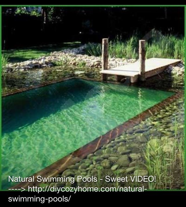 Cool pool!! natural swimming pools Pinterest Natural swimming - indoor pool bauen traumhafte schwimmbaeder