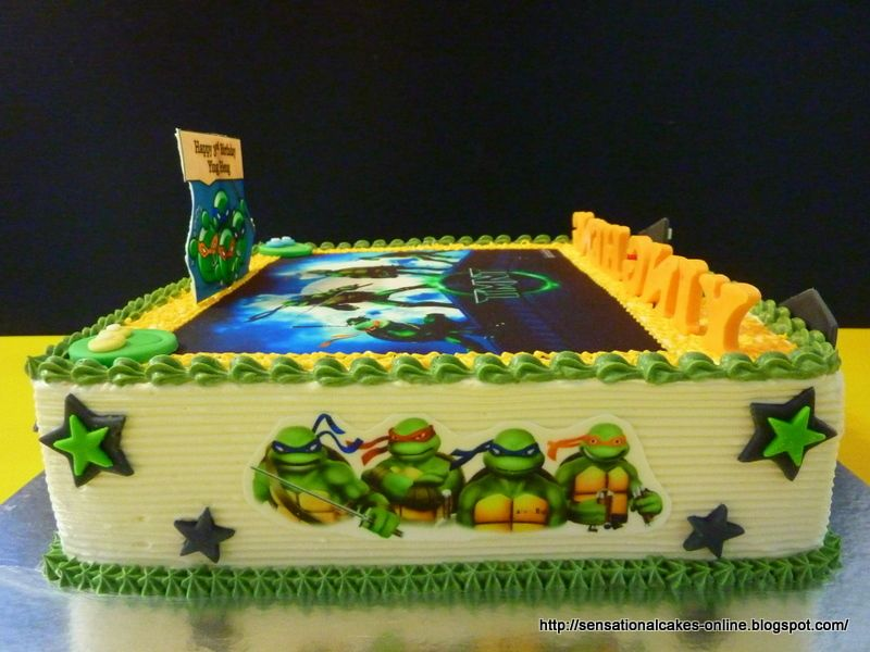 ninja turtle cakes Cakes Online Singapore TMNT TEENAGE MUTANT