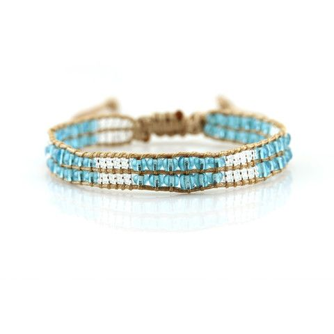 Sea Shore Crystal Bracelet   ballabracelets.com