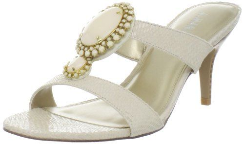 A. Marinelli Womens Tasty Sandal,Bone,6 M US A.