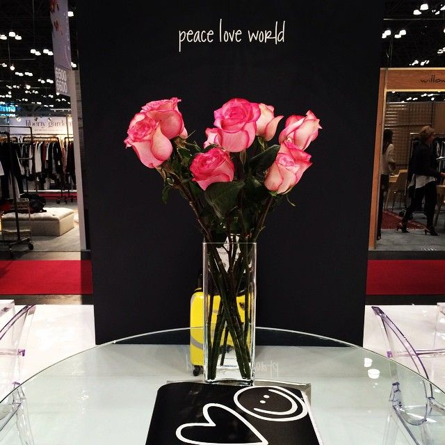 #peaceloveworld #coterie #nyc #marketweek #nyccoterie #booth7032