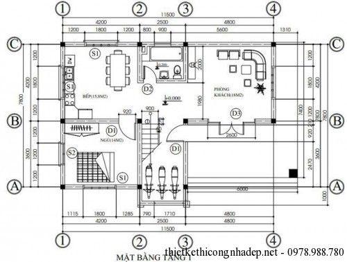 Tiếp theo chúng tôi xin gửi tới các bạn mẫu nhà hình chữ L mái bằng với kiến trúc VANS độc đáo không phào chỉ nhưng không kém phần hiện đại.