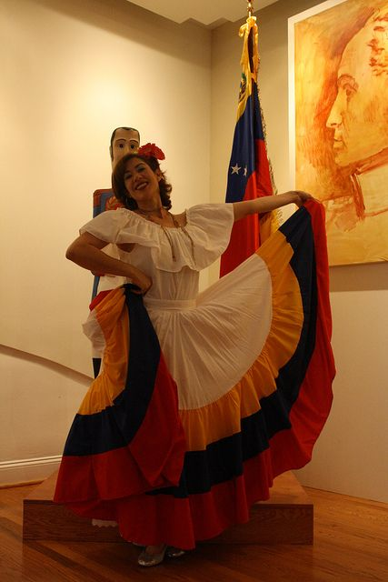 A traditional Venezuelan dress. When I was little I used ...