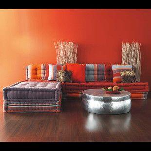 Table basse ronde en aluminium martelé | Décoration maison ...