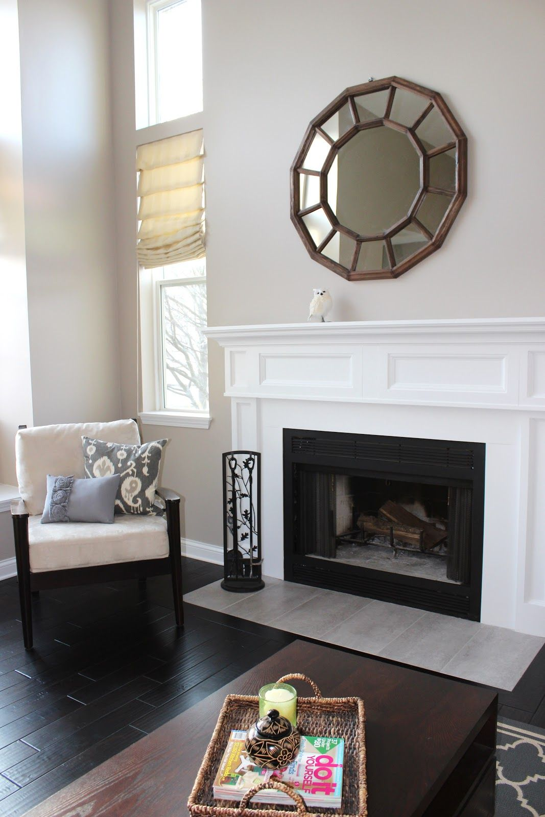 fireplace decorating ideas | Mirror, Mirror on the Wall: 8 Fireplace ...
