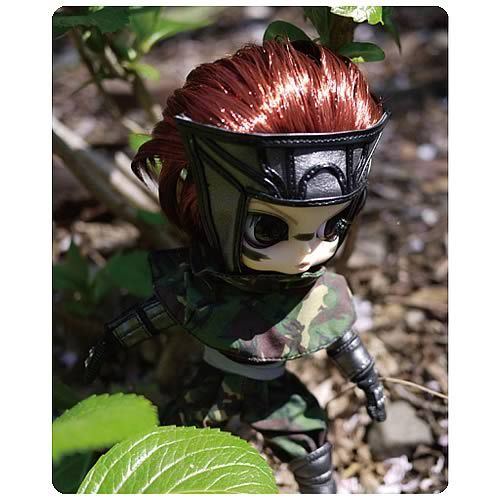 Watch out! It's Byul as the character Sarutobi Sasuke from the anime Sengoku Basara #pullip