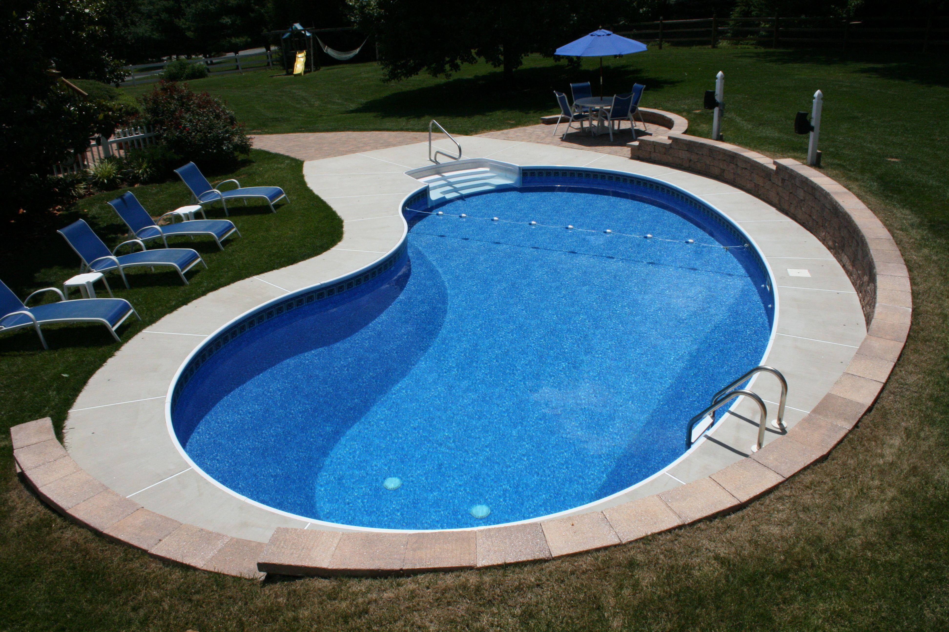 Pin By Regina Pools Spas On Backyard Paradise Kidney Shaped Pool Swimming Pools Backyard Inground Swimming Pools Backyard