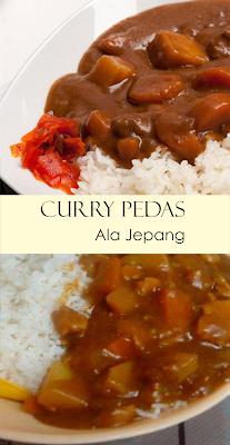 Recipesboom3 Curry Pedas Ala Jepang Makanan Resep Makanan Kari Jepang