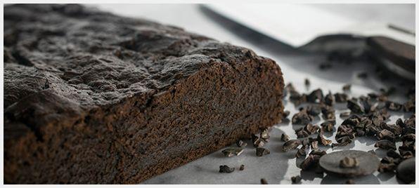Triple chocolate brownies made with Wildwood Onederful #tofu.