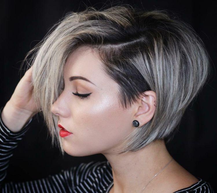 Kurzhaarfrisuren 2019 Fur Damen Trendig Facettenreich Und Wandelbar 2018 Feineshaar Kurzhaarfrisurengrau U Kurzhaarschnitte Kurzhaarfrisuren Haarschnitt