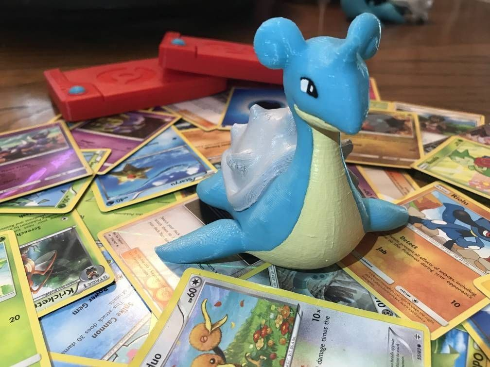 Lapras Nintendo Switch Game Holder made by West3DP -
