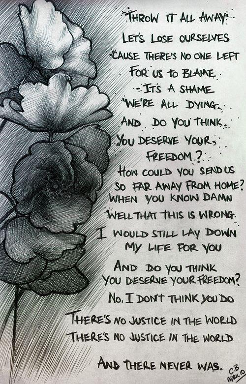 Muse #lyrics Soldiers poem BH&R   Muse's lyrics   Pinterest ...
