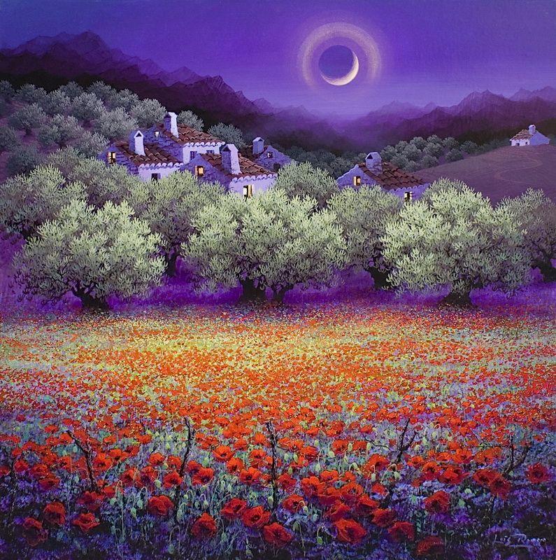 Luis Romero painting, art