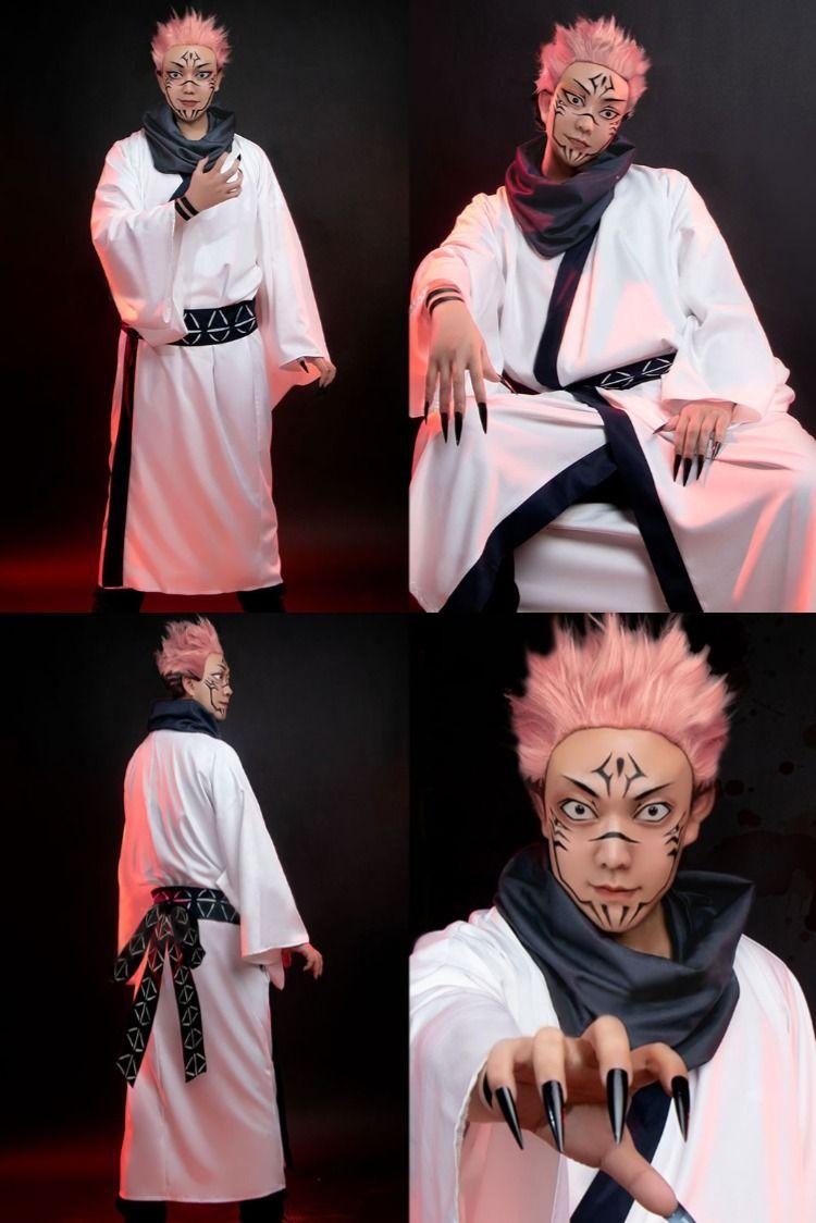 Jujutsu Kaisen Sorcery Fight Sukuna Ryomen Cosplay Costume Cosplay Costumes Costumes Cosplay