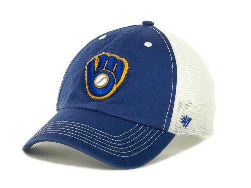 the best attitude 465ce 2de5b Milwaukee Brewers  47 Brand MLB Blue Mountain Franchise Hats