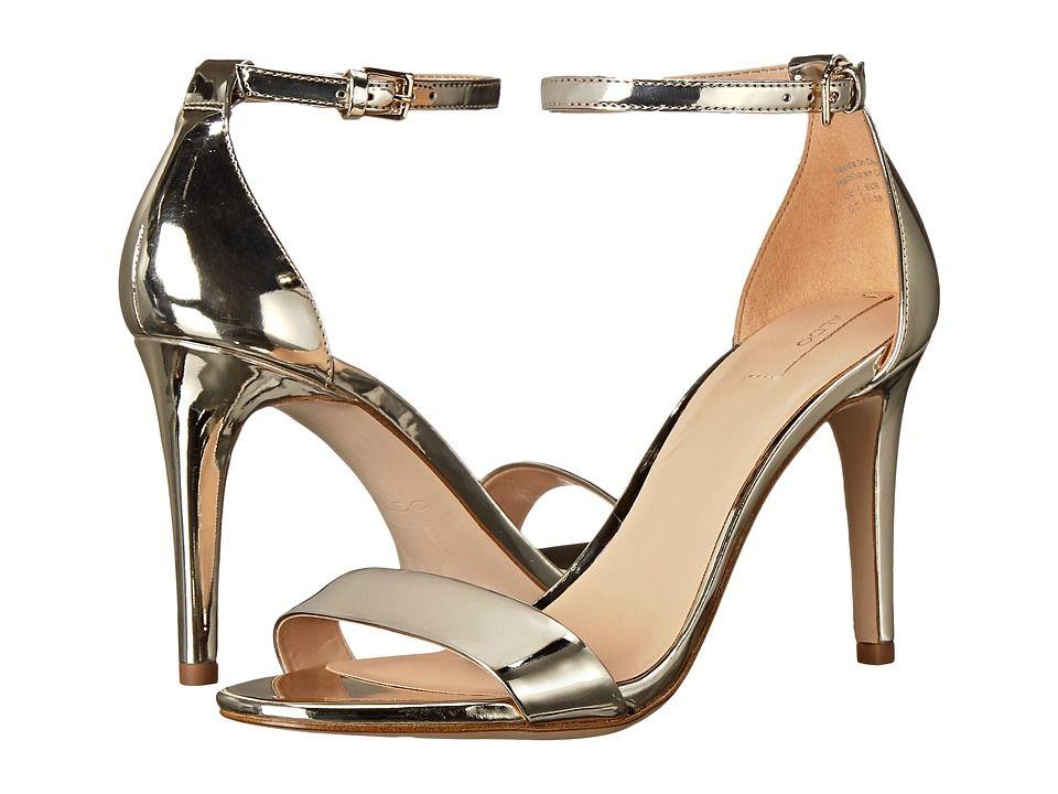 3a1f918d02bb ALDO Cardross High Heels Gold