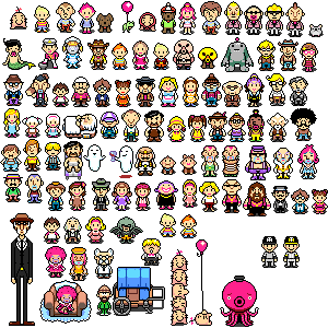 earthbound characters - Google Search | nerdity | Peanuts comics