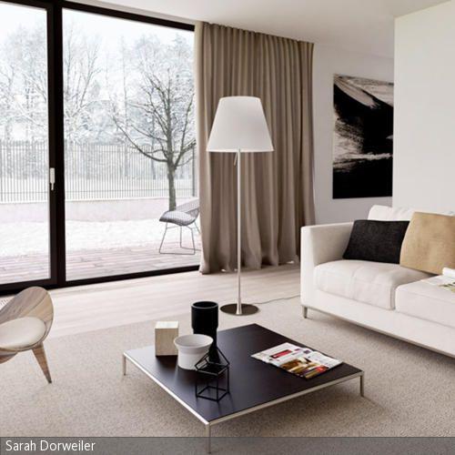 Wohnzimmer- Umgestaltung | große Wohnzimmer, Wohnzimmer modern und ...