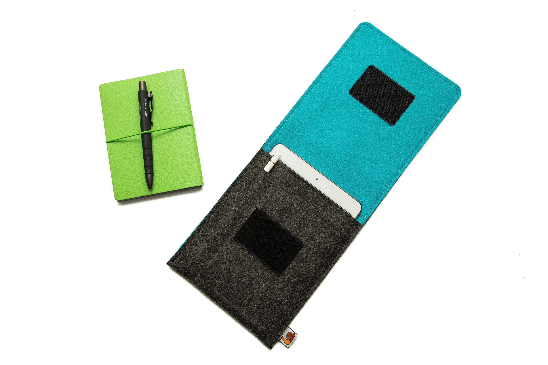 Handmade iPad Cover Case Smart Keyboard Compatible Apple Pencil Pocket Holder