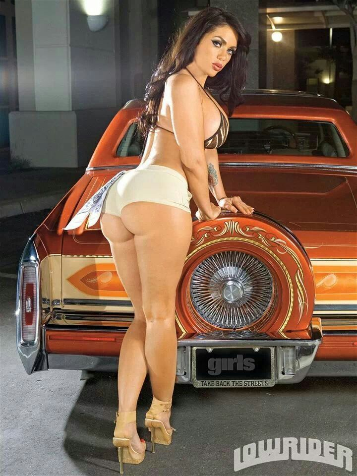 Think, that Latinas ass with lowriders think