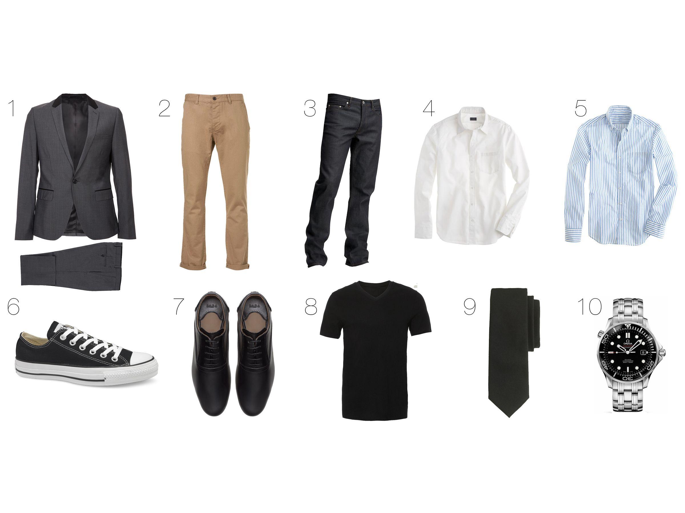 Men's Wardrobe Basics foto