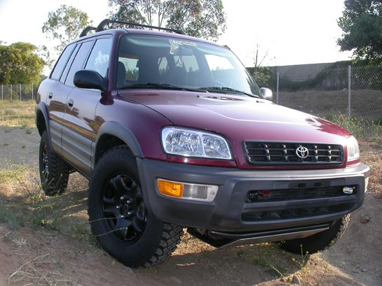 Lifted Rav4 Toyota Crawling Recing Our Build Of The Trucklet Off Road