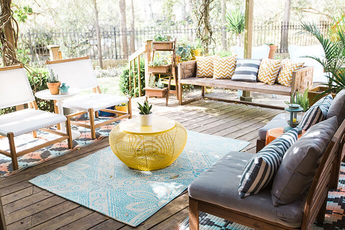 11 outdoor spaces to inspire you this spring around the house rh pinterest com