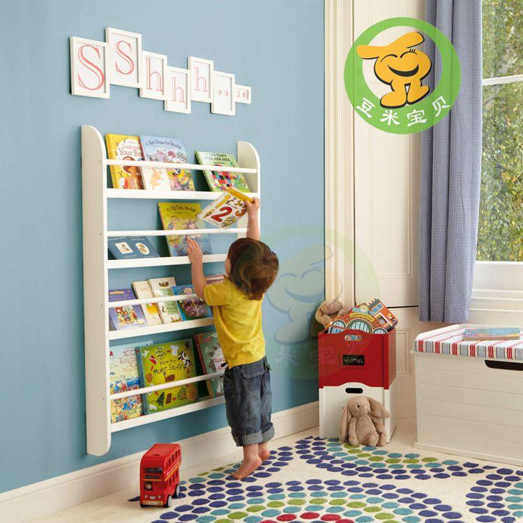 Kids Wall Mount Book Shelf