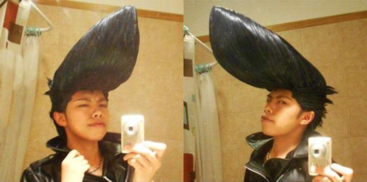 Asian hair gel