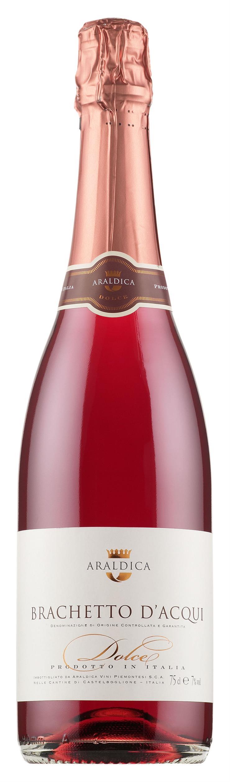 Araldica Brachetto D Acqui Dolce Products Alko Wine Bottle Rose Wine Bottle Strawberry Jam