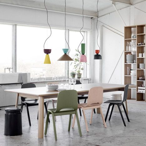 Luca Nichetto designs modular Alphabeta pendant lamp for Hem