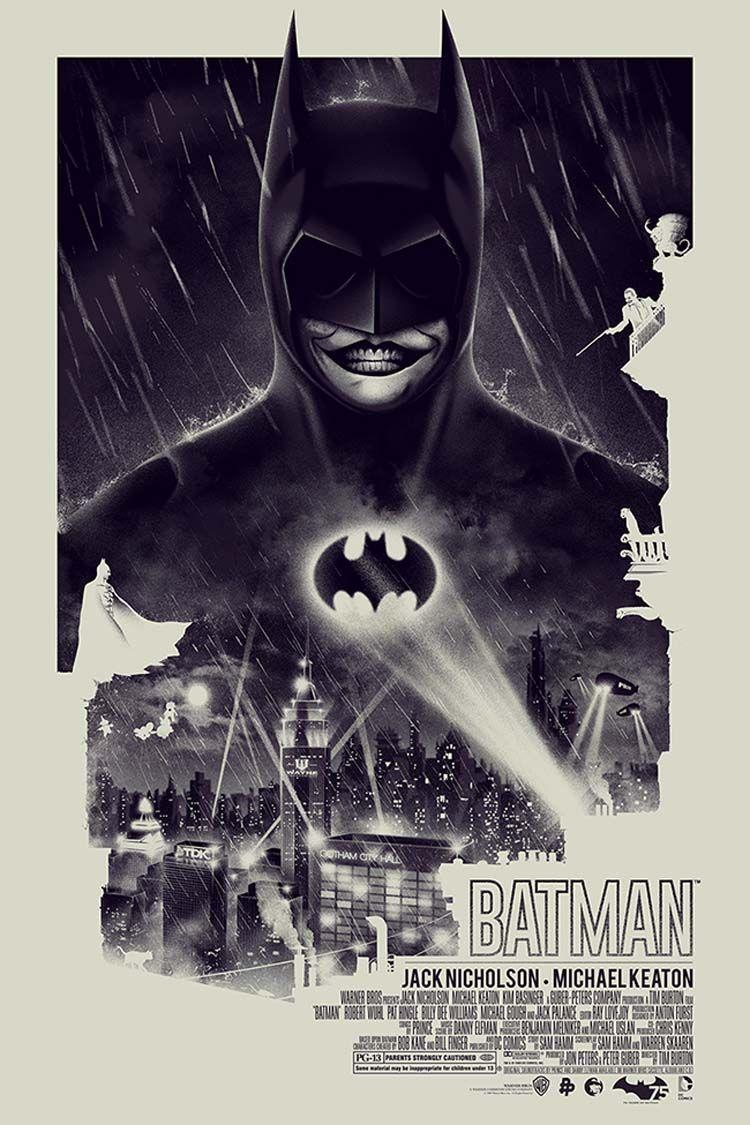 Best Movie Poster Illustrations by Patrick Connan   Batman, Movie ...