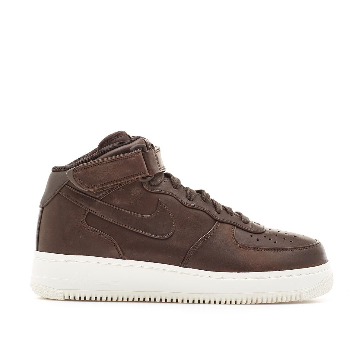 cheap for discount eacf3 375b0 NikeLab Air Force 1 Mid from Nike Quickstrike collection in velvet brown