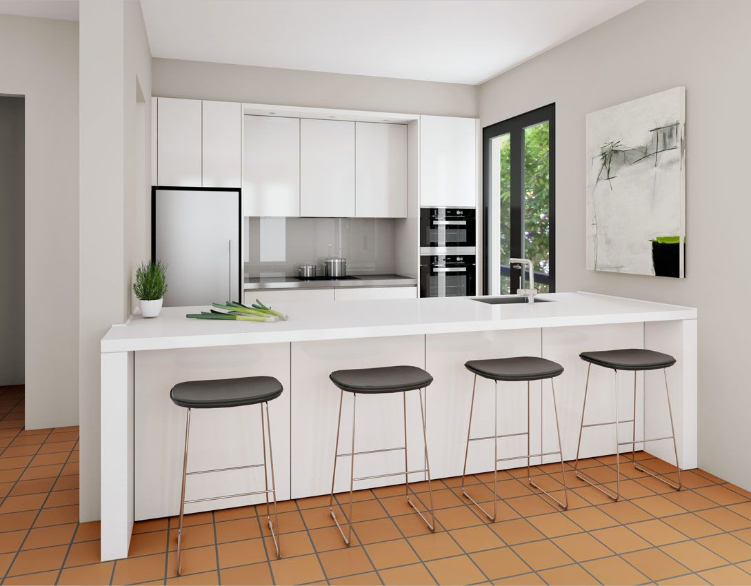 Kitchen Images & Inspiring Design Ideas   Open galley kitchen ...