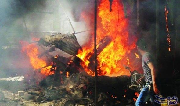 تحط م طائرة حربية روسية في حميميم ومقتل طاقمها تلقت روسيا ضربة