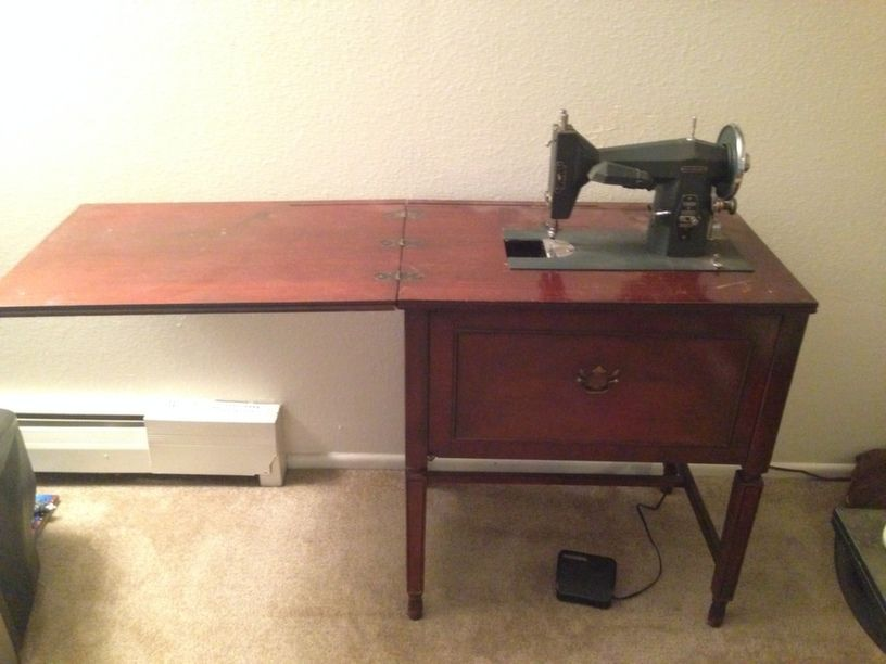 Vintage Kenmore Sewing Machine With Table For Sale In Arvada