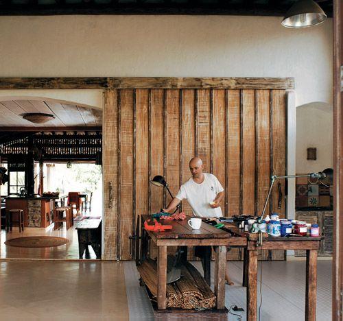 Esta casa lembra as habitações de Bali - Casa