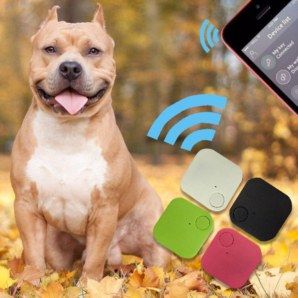 New Suqare GPS Tracker Pets Kids Wallet Keys Alarm Locator ...