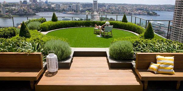 Paisajismo jardines en terrazas - #paisajismo #garden #terrazas - jardines en terrazas