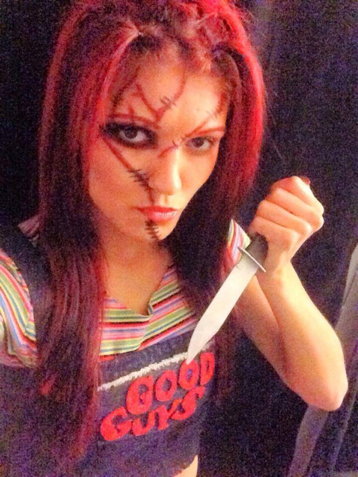 Chucky costume with splat hair | Splat For Halloween | Pinterest ...