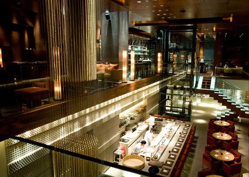 Zuma dubai japanese restaurant interior design by